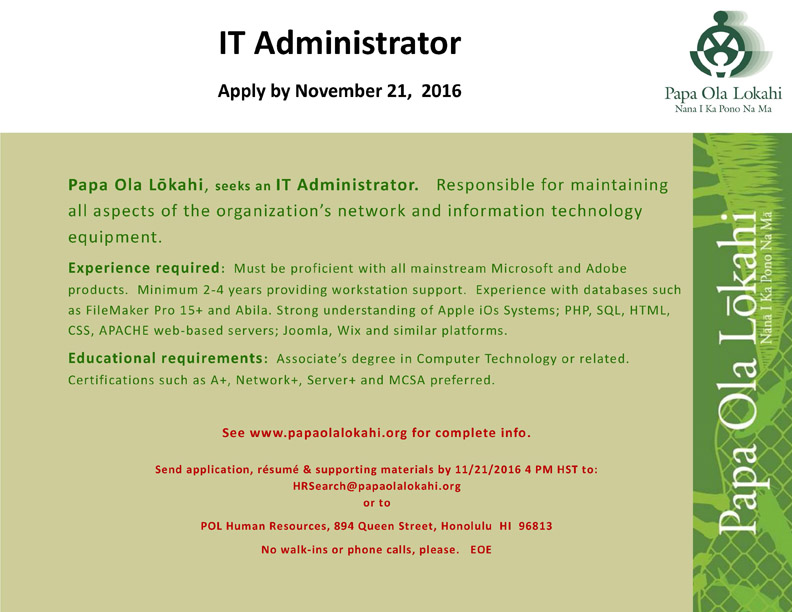 AD IT Administrator 2016 1107